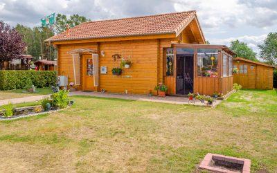 Ferienhaus aus Holz als Hauptwohnsitz in Gifhorn