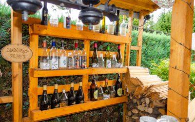Lieblingsplatz an der Bar auf Jahrescampingstellplatz in Gifhorn