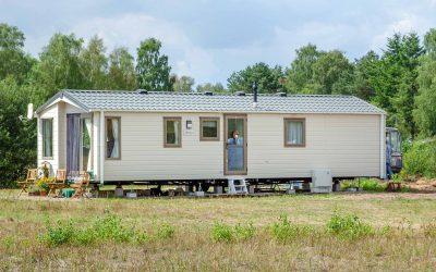 Mobilheim-Chalet zum günstigen Wohnen mit Hauptwohnsitz