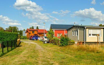 Mobilheim und Ferienhaus als Hauptwohnsitz auf Campingplatz in Gifhorn