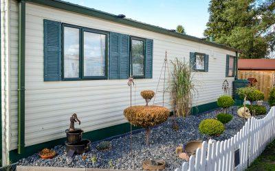 Mobilheim zum Wohnen mit schönem Garten in Gifhorn