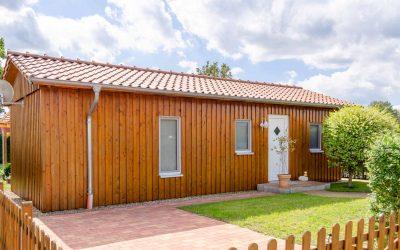 Wochenendhaus aus Holz als Hauptwohnsitz