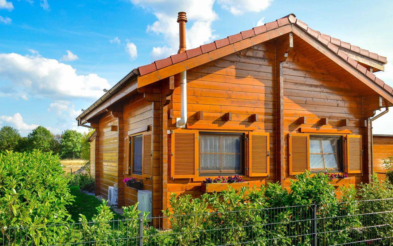 Ferienhaus aus Holz